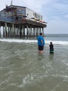 Dan & Thorin at Old Orchard Beach