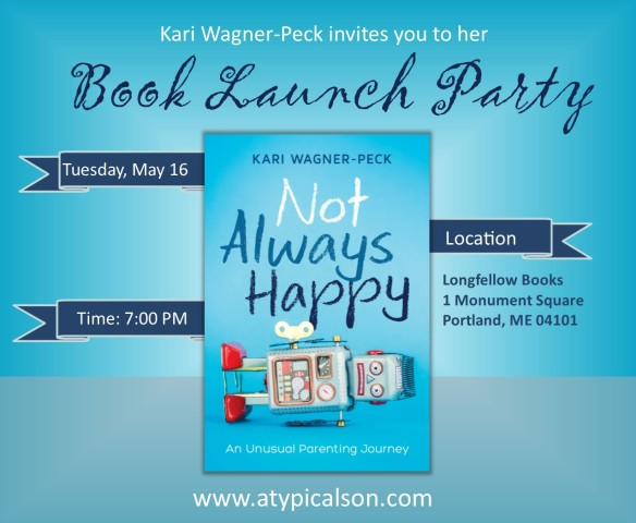 book launch event graphic