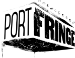 PortFringe Black Stencil Logo